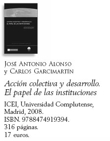 Libro: Acción colectiva y desarrollo. El papel de las instituciones.
